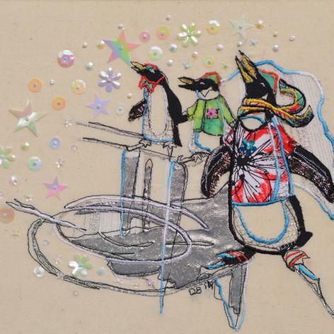 Skating Penguins
