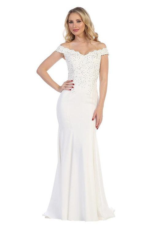 BRIDAL DRESS OFF WHITE