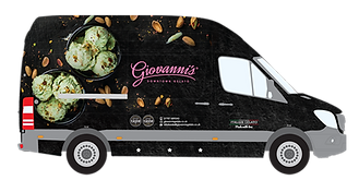 Giovanni's Gelato Van