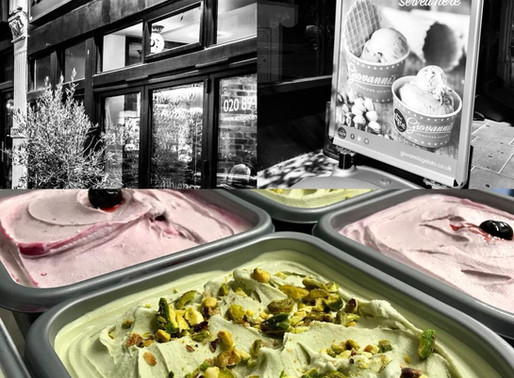 GIOVANNI'S DOWNTOWN GELATO FRANCHISE OPENS IN WIMBLEDON