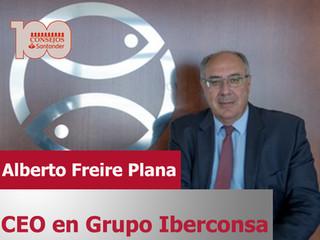 Alberto Freire CEO en Grupo Iberconsa, nuevo ponente para 100 Consejos Santander 2020