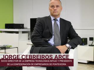 Jorge Cebreiros Arce, Socio Director de la empresa tecnológica InfoJC y Presidente de la Confederaci