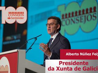 Alberto Núñez Feijóo ponente de 100 Consejos Santander 2020
