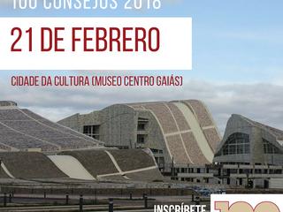 El evento 100 Consejos elige de nuevo el Museo del Centro Gaiás para su celebración
