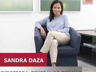 Sandra Daza, Directora General Gesvalt ponente en 100 Consejos Santander 2020