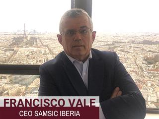 Francisco Vale, CEO de SAMSIC Iberia, pontente en 100 Consejos 2019