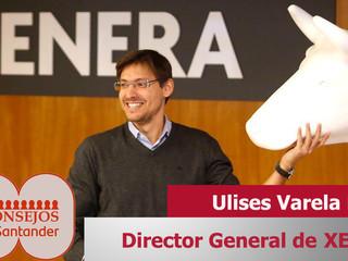 Ulises Varela, Director General de XENERA, ponente en 100 Consejos Santander 2020