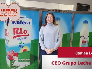 Carmen Lence CEO en Grupo Leche Río, nueva ponente para 100 Consejos Santander 2020