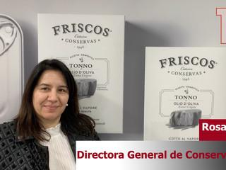Rosa Mª Nieto, Directora General de Conservas FRISCOS ponente en 100 Consejos Santander 2020