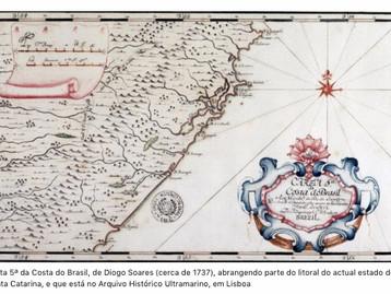 Os mapas do Brasil desenhados pelos padres matemáticos do séc. XVIII