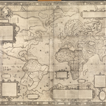 Chart of the Week | Gerardus Mercator World Map,1569