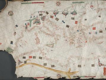 Investigando a natureza de uma carta portulano com olhar cartométrico, a talk by Gonçalo Dias (in Po