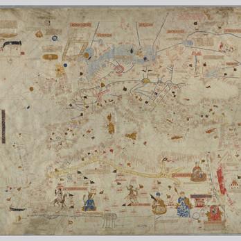 Chart of the Week   Chart of Mecia de Viladestes, 1413, Spain