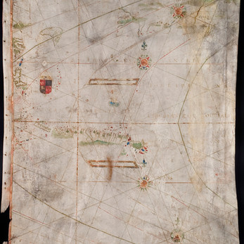 Chart of the Week   Anonymous [Luís Teixeira], c.1585, Portugal