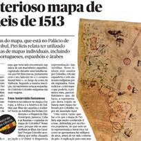 O misterioso mapa de Piri Reis, no Público