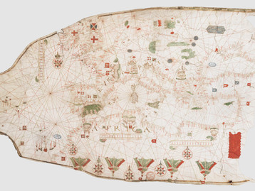 Chart of the Week | The Dijon Chart, anonymous author, 1492-1508 | Carta de Dijon