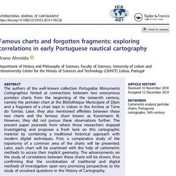 Bruno Almeida's paper is out