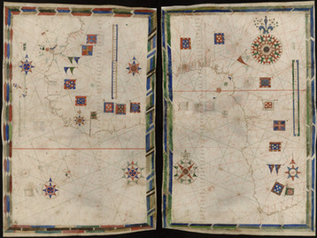 Chart of the Week | Atlas of Valladolid, anonymous Portuguese, before 1534
