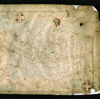Chart of the Week | Chart of Pietro Vesconte, 1311, Florence Archives