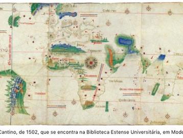 Planisfério de Cantino: um mapa para o Mundo (quase) inteiro por Joaquim Alves Gaspar