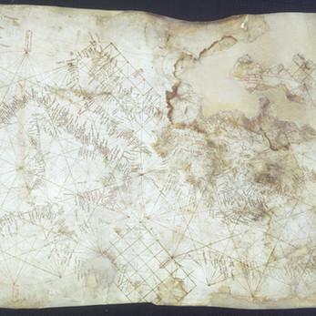 Chart of the Week | Carte Pisane, anonymous, circa 1270