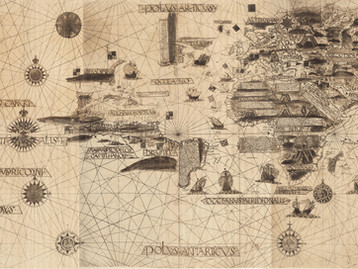 Chart of the Week | Kunstmann IV chart, anonymous, circa 1519, lost