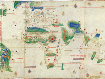 Chart of the week | The Cantino planisphere, anonymous Portuguese, 1502