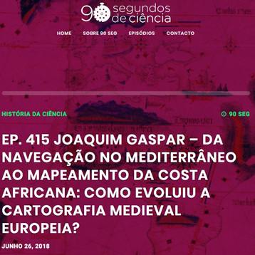 Da navegação no mediterrâneo ao mapeamento da Costa Africana: Como evoluiu a cartografia europeia? p