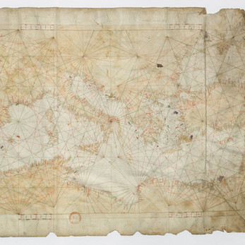 Chart of the Week | Anonymous chart of the Mediterranean and Black Sea, [ca. 1350], [Italy]