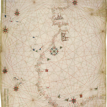Chart of the Week | Anonymous Portuguese chart, after c. 1471