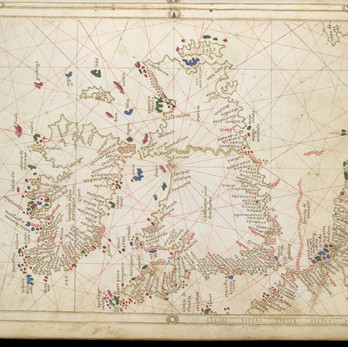 Chart of the Week | Egerton MS 2803 Atlas, after 1520, Italy