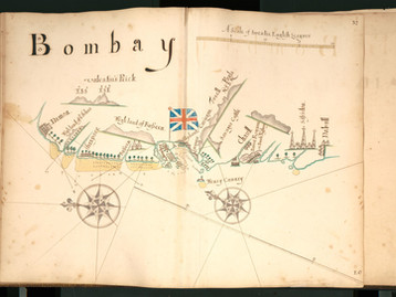 Chart of the Week | Chart of Bombay, William Hack, circa 1690