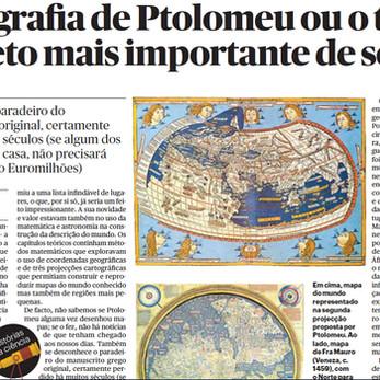 A Geografia de Ptolomeu ou o texto obsoleto mais importante de sempre por Bruno Almeida
