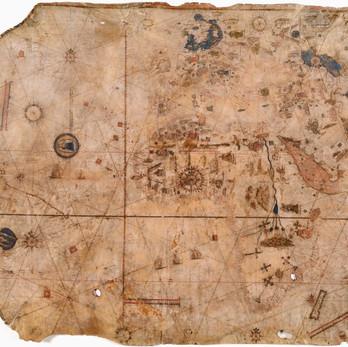 Chart of the Week   Huntington-Maggiolo Planisphere, 1516, Italy