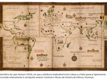 Pedro Nunes e a distância de Lisboa à Índia por Joaquim Alves Gaspar