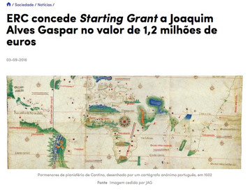 One ERC Starting Grant attributed to a scholar at the Faculty of Sciences, Lisbon University