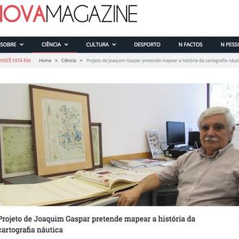 Nova Magazine interviews Joaquim Gaspar on the Medea-Chart Project