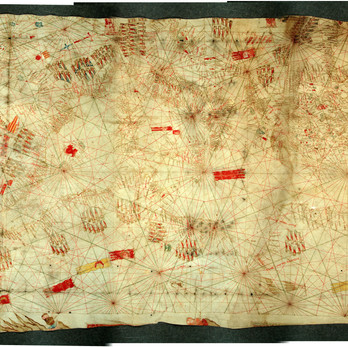 Chart of the Week | The Lucca Chart, anonymous Italian, around 1327