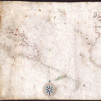 Chart of the Week | Freducci Chart of the North Atlantic, circa 1525, Italy