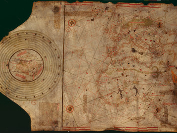 Chart of the Week | Paris/Columbus Map, 1488-1492, unknown