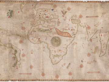 Chart of the Week | The Caverio Planisphere, c. 1505, Portugal or Italy