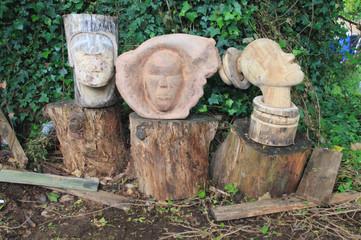 Outdoor EFA statues