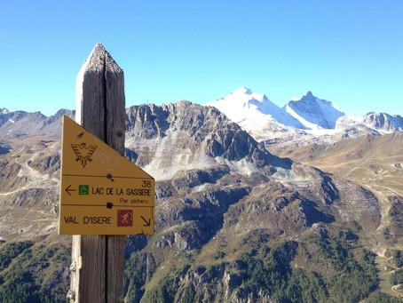 Snow on the Peaks around Vald 'Isère