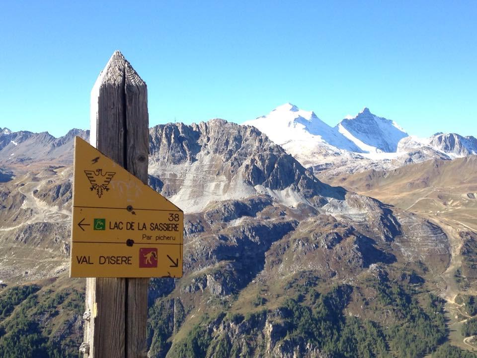 Snow on the Peaks around Vald'Isère