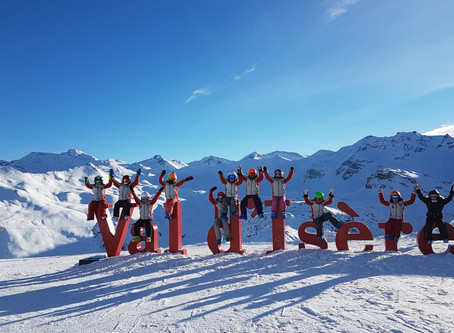Happy New Year from all the team from Val d'Isere