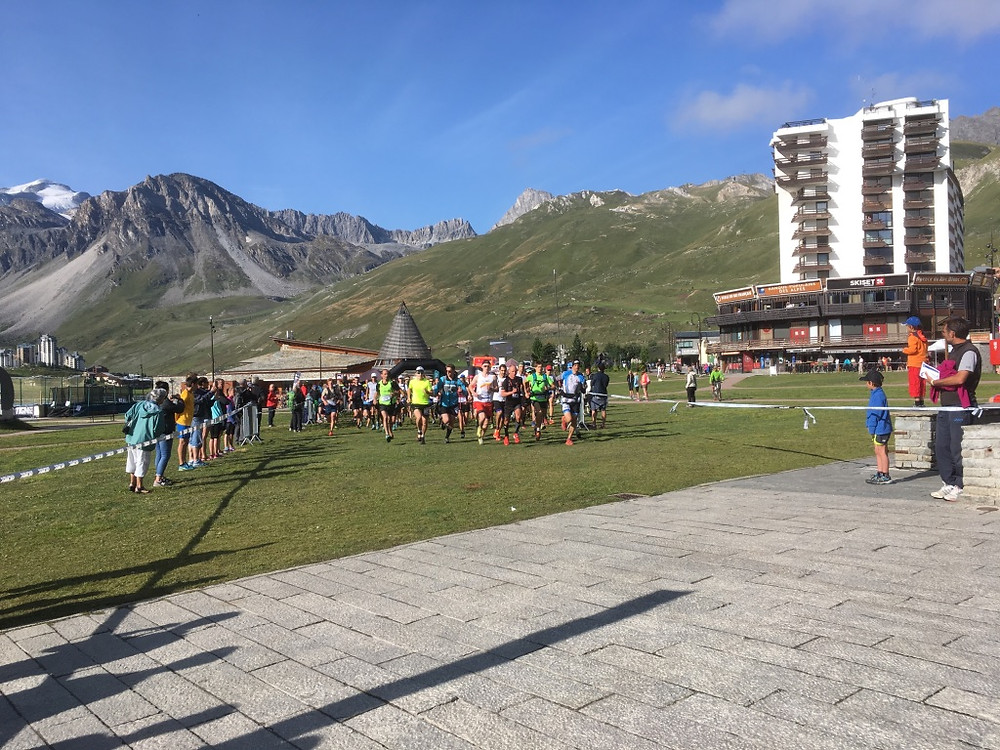 Tignes Trail run
