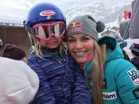 Lindsey Vonn Wins the Super G in Val d'Isère