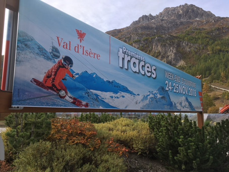 Not long now until the opening weekend in Val d'Isere