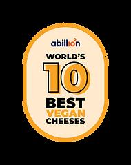 World's 10 Best Vegan Cheeses Logo.png
