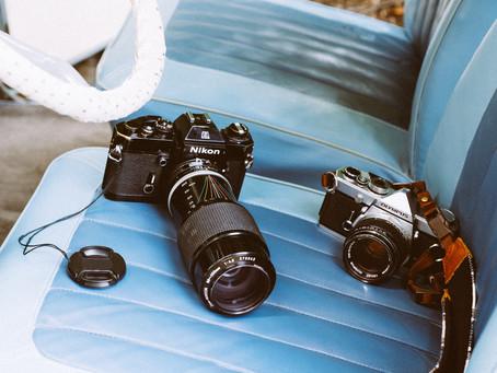 Medium format vs. 35mm format Cameras
